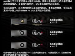 官宣!AMD RX 5700系列显卡上市前大降价!最高可达500元
