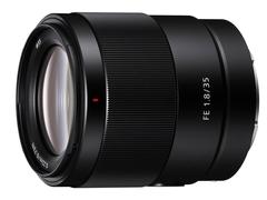 大光圈 轻量化 索尼全画幅镜头FE 35mm F1.8发布