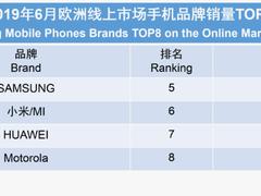 欧洲手机线上销量榜出炉:前三没悬念,苹果竟干不过诺基亚?