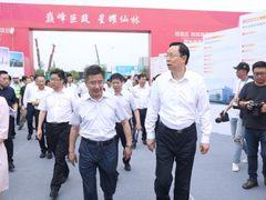 苏宁投资67亿自建商业广场盛大开工 张近东: