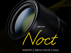 超大光圈,绝美虚化!尼康Z 58mm F0.95 S Noct镜头即将到来!
