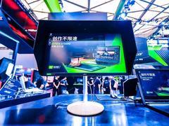 电竞与设计双剑合壁,Acer显示器惊艳亮相2019 ChinaJoy