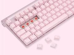Cherry MX 8.0樱粉版上架 七夕节别让女友看到