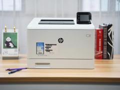 安全功能全面加持 惠普M454dw彩色激光打印机试用