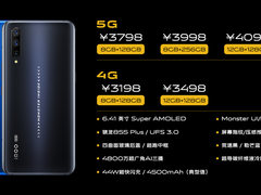 骁龙855 Plus+5G加持 iQOO Pro发布3198元起
