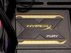 固态也上RGB光效了?HyperX Fury RGB SSD在京东上架
