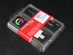 个性RGB灯效!HyperX FURY DDR4 RGB雷电流光系列骇客神条评测