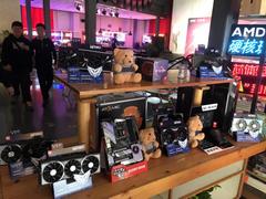 AMD粉丝线下体验会 CVN X570主板现场装机比赛