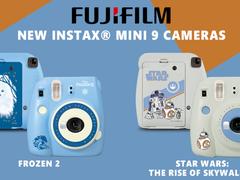富士推出联名款INSTAX mini 9,冰雪奇缘 or 星球大战?