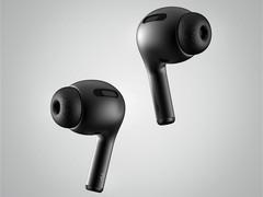 黑色版入耳式AirPods渲染图曝光:质感出色