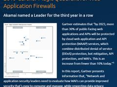 """""""2019年Web应用程序防火墙魔力象限""""Akamai被认定为领导者"""