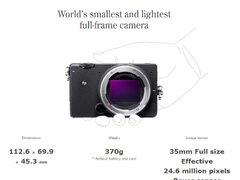 传言属实!号称全球最轻巧的微单相机价格公布