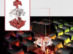自有轴体炫彩登场—HyperXAlloyOriginsRGB起源RGB游戏键盘