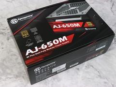 80Plus金牌认证值得买!Apexgaming AJ-650M全模组电源图赏