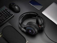 ENC降噪麦克风,雷柏VH520虚拟7.1声道RGB游戏耳机驱动详解