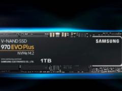 低热零噪音!三星NVMe SSD 970 EVO Plus固态硬盘特价429元起