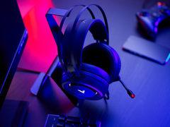 听辨,绝地求生,雷柏VH500虚拟7.1声道游戏耳机上市