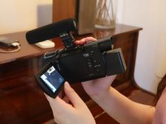 索尼AX60摄像机 Pro级Vlog大咖非你莫属