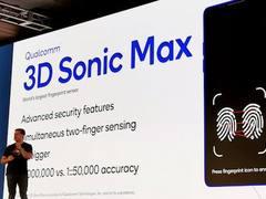 高通展示全新屏下指纹技术 识别面积增大16倍并支持双指纹