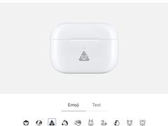 果粉福利!AirPods增添新选项,定制雕刻服务支持表情符号