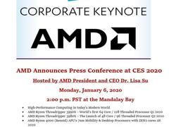 CES 2020前瞻,AMD会发布哪些新品呢?