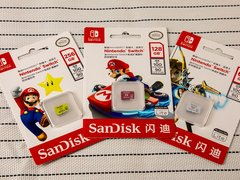 专为Switch定制 SanDisk闪迪全新TF存储卡体验评测