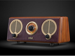 聆听来自岁月的声音 惠威Classical M2R奏鸣曲蓝牙FM收音机有源音箱