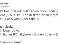 intel下下代酷睿将迎来跨越式性能提升?外媒爆料Golden Cove架构改进