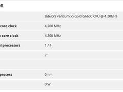 奔腾主频破4GHz,英特尔将全新推G6000金牌系列