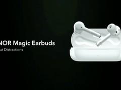 荣耀Magic Earbuds/MagicWatch 2限量表带发布