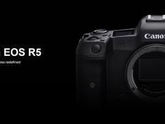 佳能EOS R5公布 动物眼控对焦+8K录制