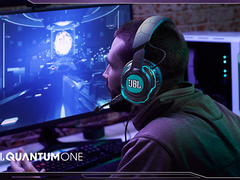 JBL QUANTUM ONE 头戴式降噪游戏耳机 感受震撼逼真的游戏体验