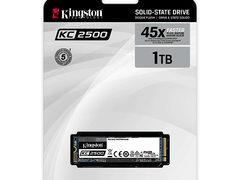 金士顿发布KC2500 M.2 NVMe固态硬盘新品