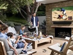 三星发布新款户外电视,亮度高达2000尼特