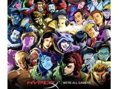 HyperX签约25位全球影响力人物成为品牌形象大使