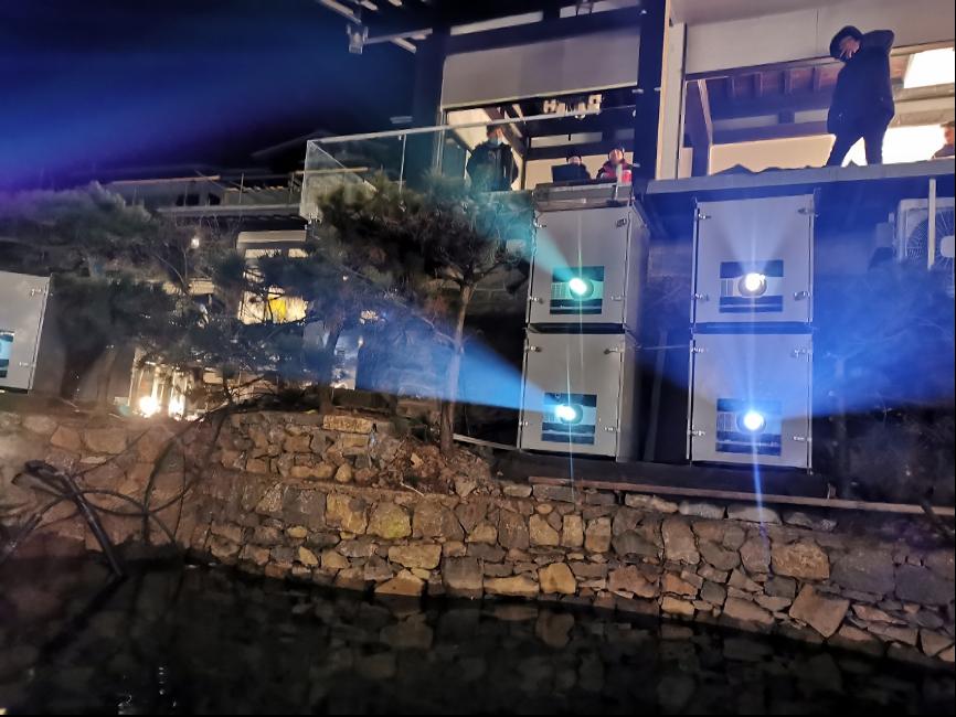 NEC哈勃系列打造茶芽山光影秀 沉浸式夜游激活田园旅游新亮点