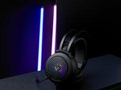多兼容 高听辨 雷柏VH120 RGB游戏耳机上市