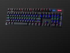 多模游戏 雷柏V500PRO多模版有线无线背光游戏机械键盘上市
