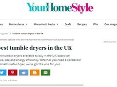 在英国:六款最佳干衣机,两款来自海尔智家