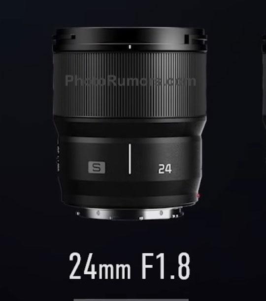 广角定焦!松下S 24/1.8镜头即将发布?