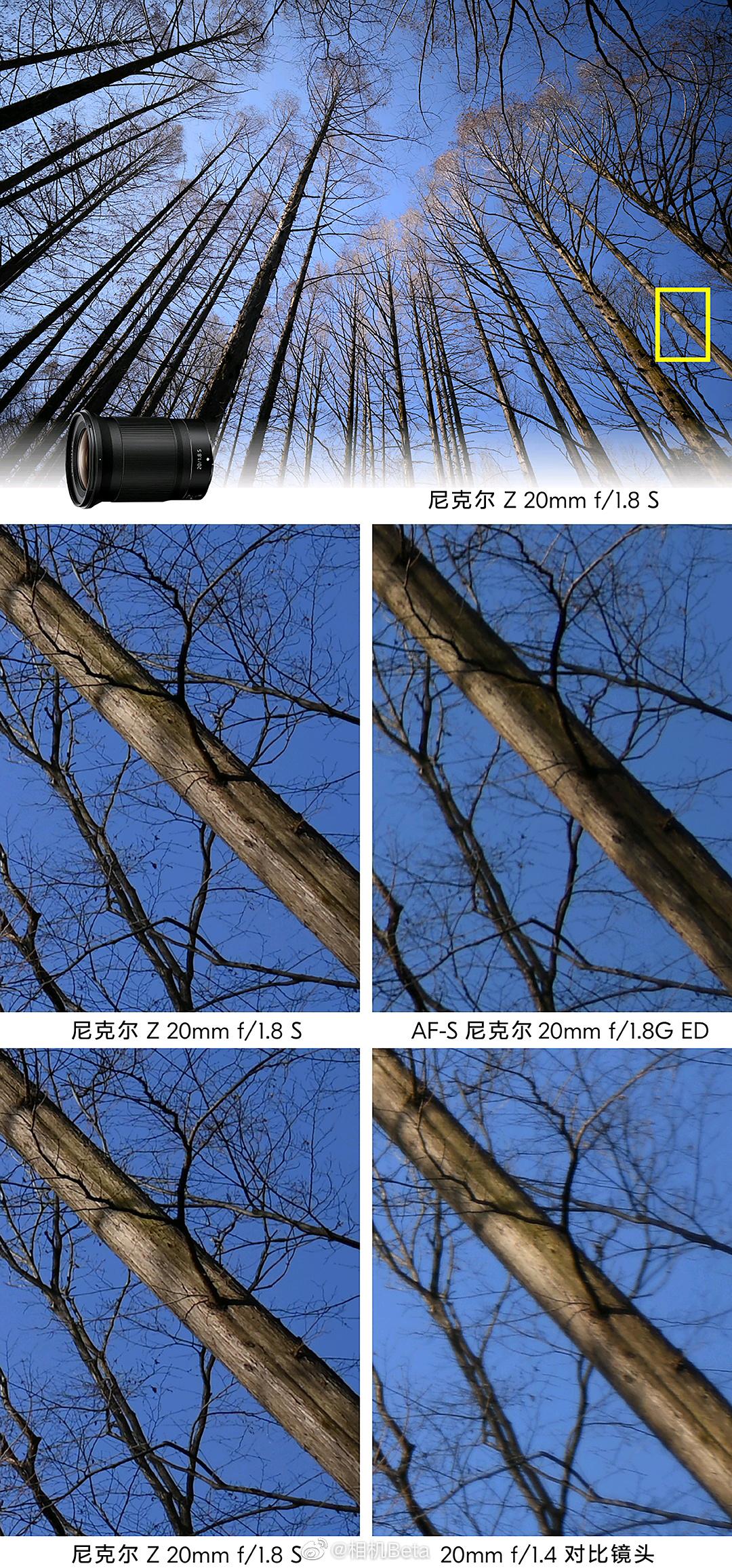 画质提升很大!尼康公开Z卡口F1.8镜头对比照片