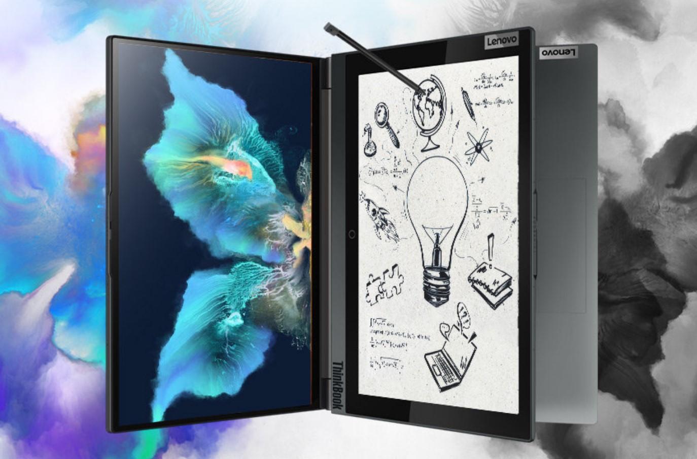 水墨屏笔记本ThinkBook Plus 2亮相联想Tech World,重新定义商务PC