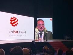 国美MAXREAL86英寸智能语音电视遥控器斩获2019德国红点奖