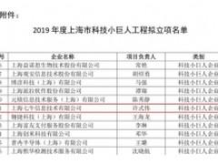 """七牛云入选""""2019年度上海市科技小巨人企业"""""""