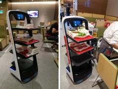 中国送餐机器人出海,将中国餐饮科技文化弘扬全球