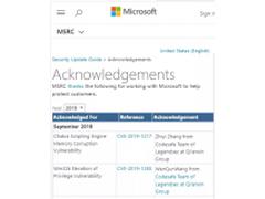 奇安信代码卫士帮助微软修复Edge浏览器和Windows内核高危漏洞