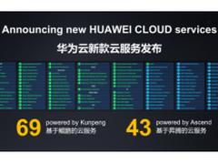 华为云69款基于鲲鹏的云服务, 原生应用性能提升80%