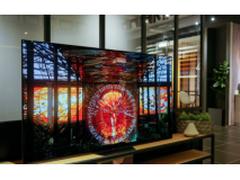 索尼这款A8F 4K OLED智能电视层次分明,画质清晰