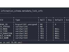 华为云MySQL新增MDL锁视图特性,快速定位元数据锁问题