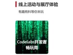 工程狮齐聚华为云,华为开发者大会2020(Cloud) Codelabs即将开启
